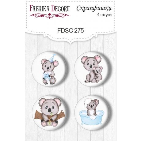Flair buttons. Set of 4pcs #275