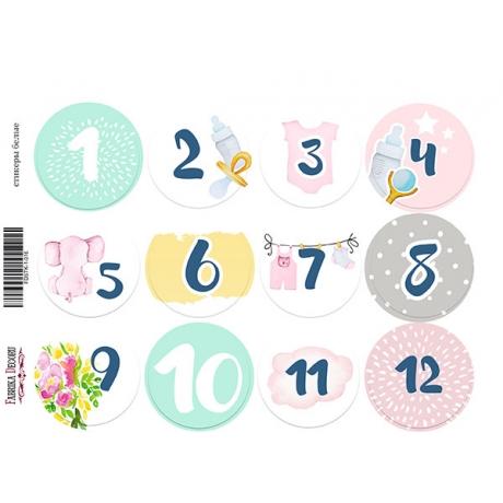Набор наклеек (стикеров) для журналинга #1-016