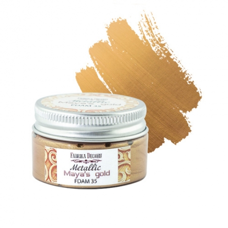 Metallic paint Maya's gold 30 ml