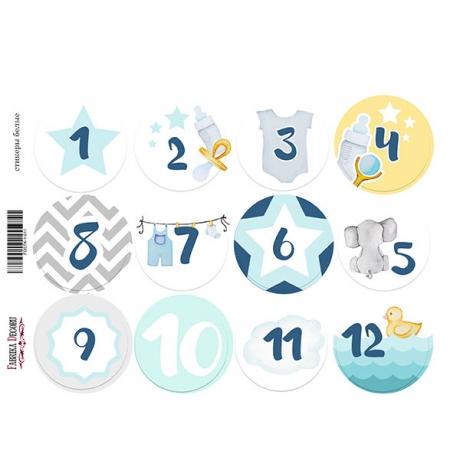 Набор наклеек (стикеров) для журналинга #1-011