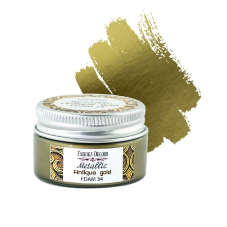 Metallic paint Antique gold 30 ml