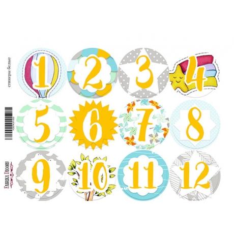 Набор наклеек (стикеров) для журналинга #1-030