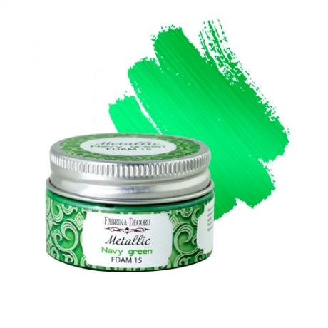 Metallic paint Navy green 30 ml