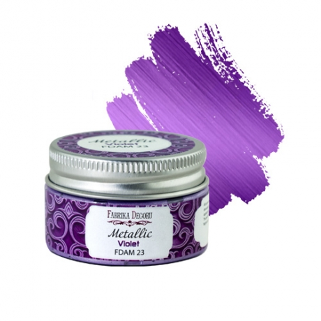 Metallic paint Violet 30 ml