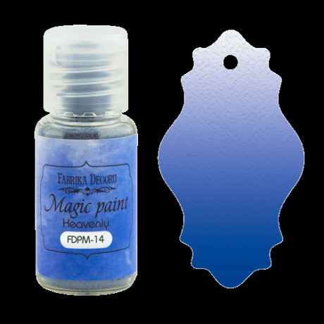 "Dry paint ""Magic paint"" color ""Heavenly"", 15ml"