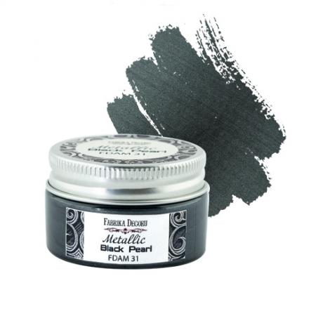Metallic paint Black pearl 30 ml