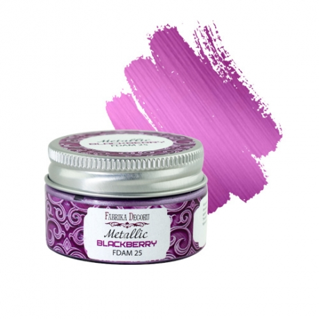 Metallic paint Blackberry 30 ml