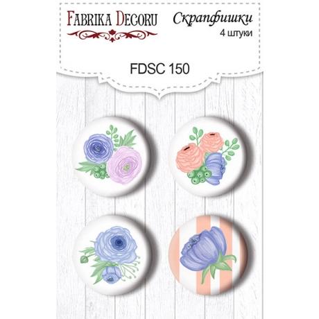 Flair buttons. Set of 4pcs #150