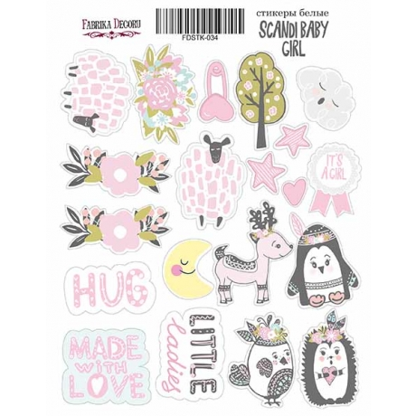 Kit of stickers #034,