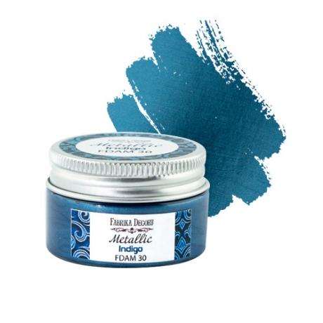 Metallic paint Indigo 30 ml