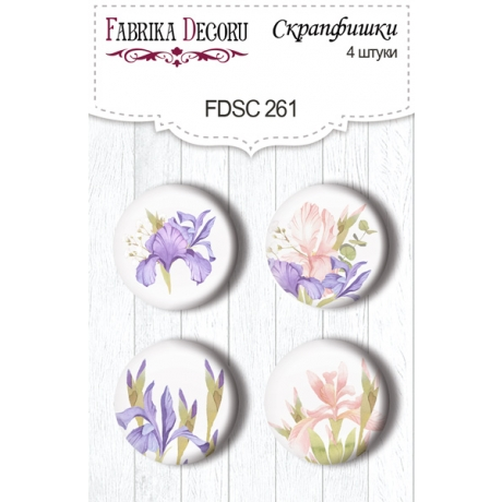 Flair buttons. Set of 4pcs #261