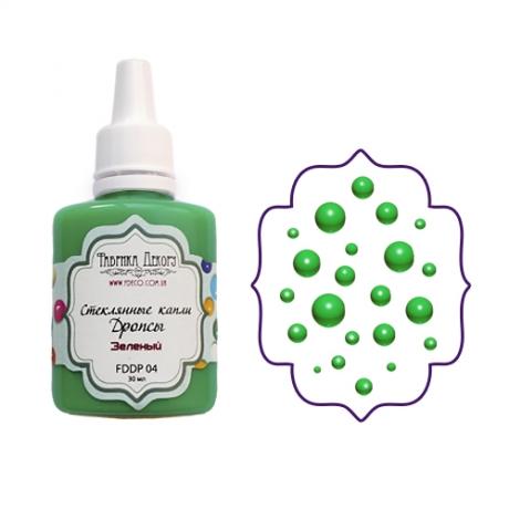 Vedelad klaastilgad (Drops). Roheline