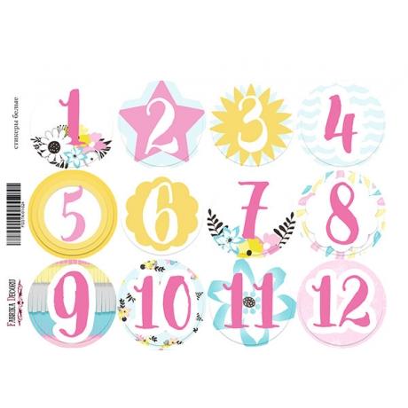 Набор наклеек (стикеров) для журналинга #1-024