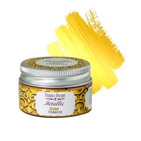 Metallic paint Gold 30 ml