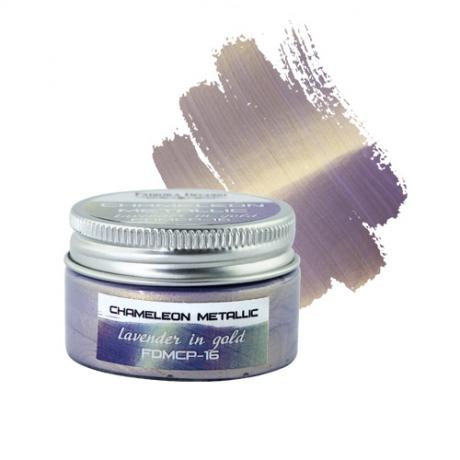 Kameeleon-metallikvärv. Lavendel-kuld
