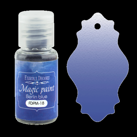 "Dry paint ""Magic paint"" color ""Berlin blue"", 15ml"