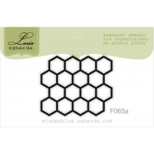 "Stamp ""Hexagons"""