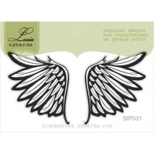 """Stamp """"Wings"""""""