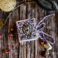 Mini book - lilac