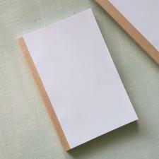 Блок для блокнота A5 - белый