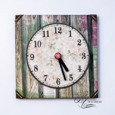 "Parking clock ""Verano Azul"" #6"