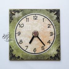"""Parking clock """"Wild Garden"""" #3"""
