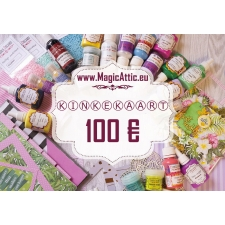 Digital gift card 100 EUR