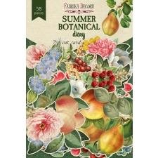 """Набор высечек, коллекция """"Summer Botanical Diary"""", 58 шт"""
