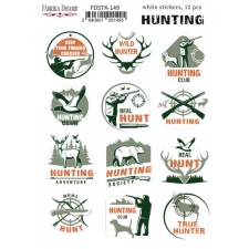 "Kit of stickers #149, ""Hunting"""