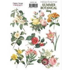 "Набор наклеек (стикеров) #189, ""Summer Botanical Diary"""