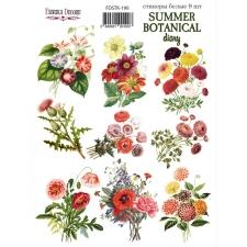"Набор наклеек (стикеров) #190, ""Summer Botanical Diary"""