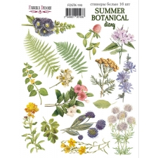 "Набор наклеек (стикеров) #193, ""Summer Botanical Diary"""