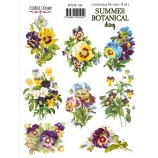 "Набор наклеек (стикеров) #195, ""Summer Botanical Diary"""