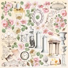"Decorative sheet for cutting ""Nostalgia"""