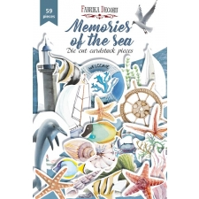 "Set of die cuts ""Memories of the Sea"", 59 pcs"