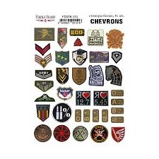 "Kit of stickers #151, ""Chevrons"""