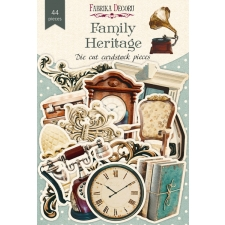 "Set of die cuts ""Family Heritage"", 44 pcs"