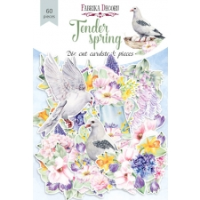 "Set of die cuts ""Tender Spring"", 60 pcs"