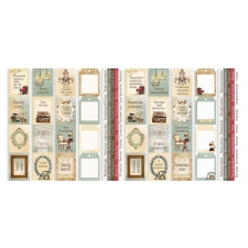 "Set of stripes with pictures for decoration ""Family Heritage"""