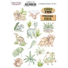 """Kit of stickers #179, """"Dinosauria"""""""