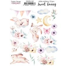 "Набор наклеек (стикеров) #197, ""Sweet Bunny"""