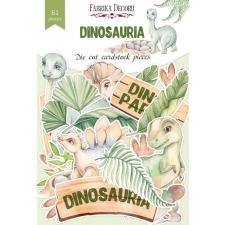 "Set of die cuts ""Dinosauria"", 61pcs"