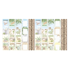 """Set of stripes with pictures for decoration """"Dinosauria"""""""