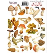"Набор наклеек (стикеров) #223, ""Autumn Botanical Diary"""