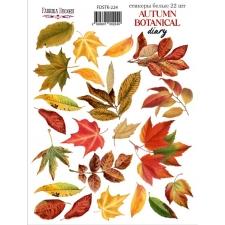 "Набор наклеек (стикеров) #224, ""Autumn Botanical Diary"""