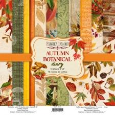 "Набор скрапбумаги ""Autumn Botanical Diary"", 20x20 см"