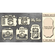 "Chipboards set ""Cameras"""