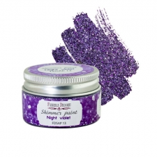 Shimmer paint. Color Night violet