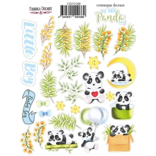"Kit of stickers #068, ""My Little Panda Boy"""