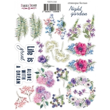 "Kit of stickers #069, ""Night Garden"""